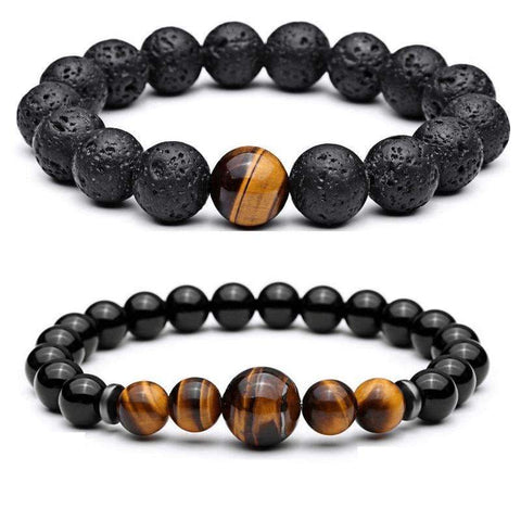 Image of Tiger Eye Bracelet Set