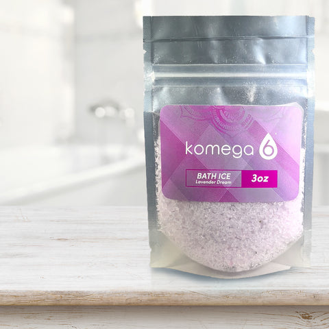 Lavender Dream - Scented Mediterranean Bath Salt (single-serve pack set)