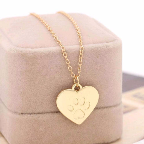 Love Heart of Dog Necklace jewelry lovers Best Valentine's Day & Christmas Gift Women - babiesrhere