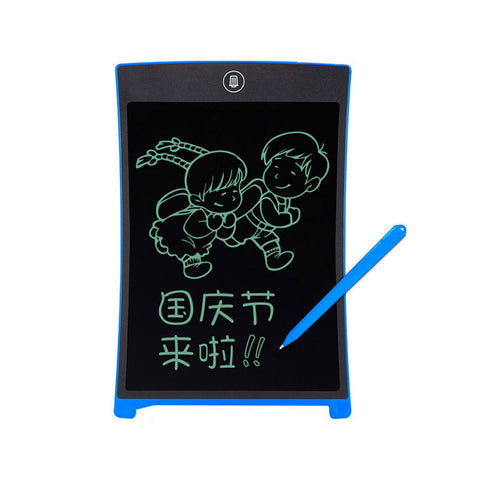 Drawing Erase Electronic Paperless LCD Handwriting Pad Kids Writing Board Children Gifts - babiesrhere