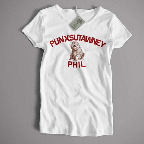 As Worn In Groundhog Day T Shirt - Punxsutawney Phil Cult Movie Comedy T shirt - babiesrhere