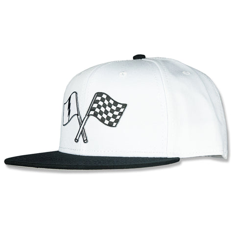 Victory Snapback White