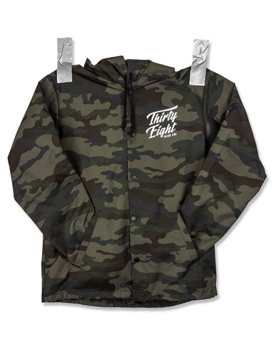 OG Hooded Coach Jacket Camo