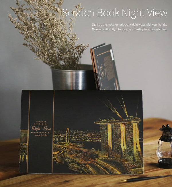 Scratch Book Night View - Vol.2 Asia