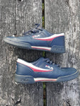 Vtg Fila fitness  low top Sneakers mens Sz 9 / Eu 42 / uk 8 White blue