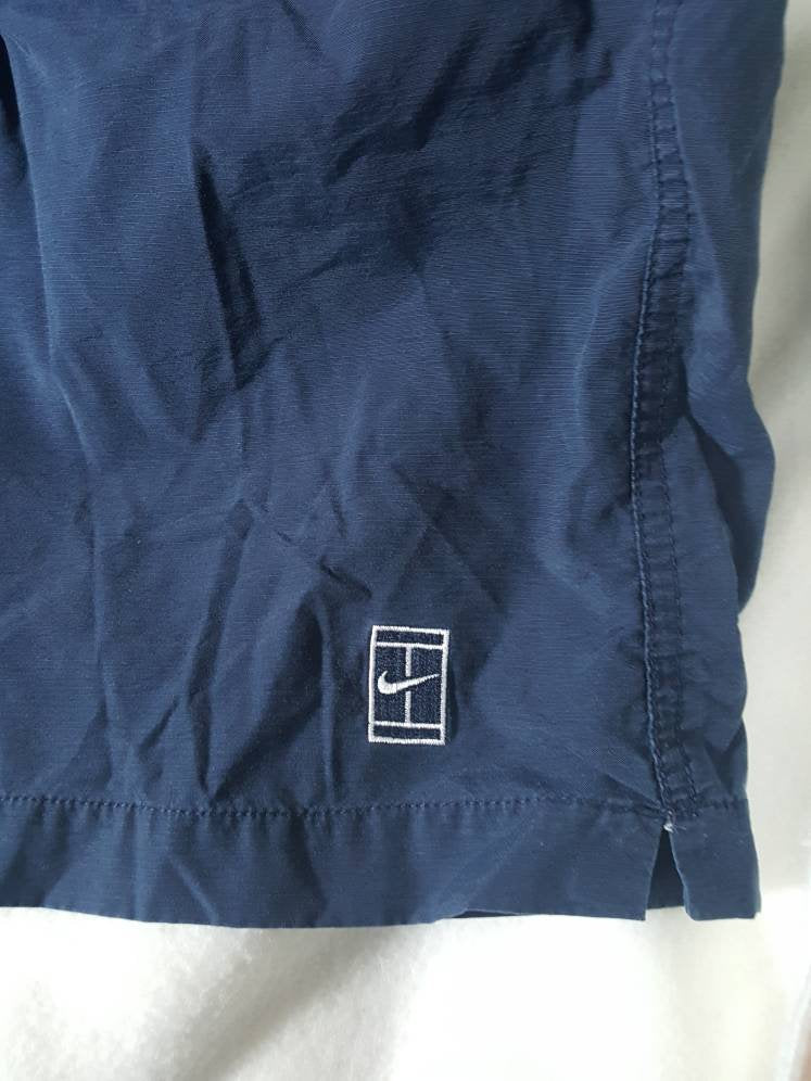 Vtg Nike Full Court Tennis Navy Blue Shorts size XL