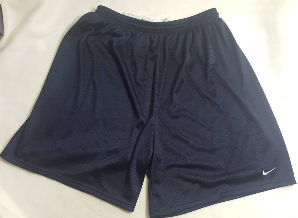 Vtg Nike Mesh Navy Blue Shorts size XL