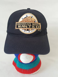 Vtg America's Most wanted TV Show trucker hat snapback  cap Cult Classic 80s 90s