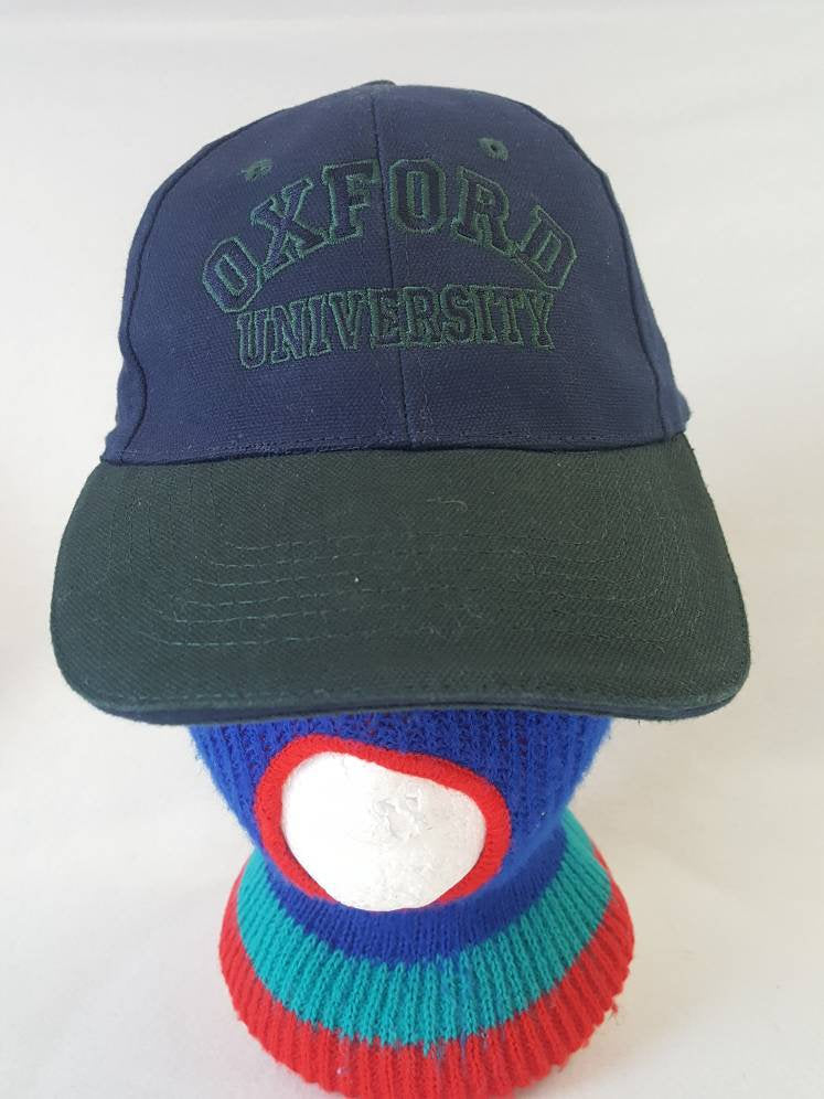 Vtg Oxford University  Dad hat cap  England