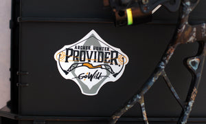 Archery sticker bowhunting