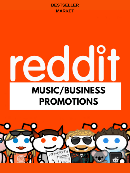 WE WILL PROMOTE YOUR LINK ON REDDIT 3 TIMES WITH 20 REAL UPVOTES  | BESTSELLER MARKET