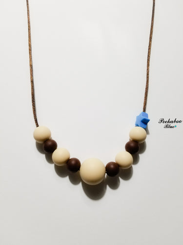 Adult Silicone Breastfeeding Teething Necklace