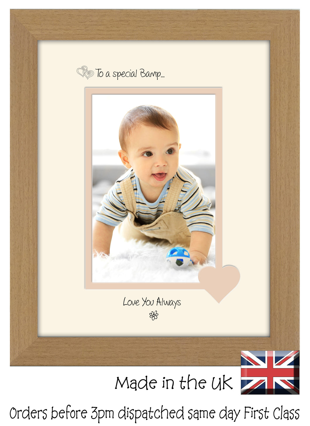Bamp Photo Frame - To a Special Bamp ... Love you Always Portrait photo frame 6