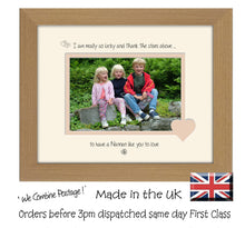 "Nannan Photo Frame - I Thank the stars Nannan Landscape photo frame 6""x4"" photo 824F 9""x7"" mount size  , Choices of frames & Borders"