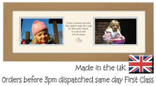 "Mum Photo Frame Two Box Hands and Heart photo frame 6""x4"" photos 1216A 45cm x 15.1cm mount size  , Choices of frames & Borders"