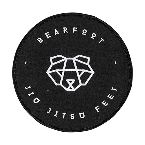 Bearfoot Patch Circle Logo Large
