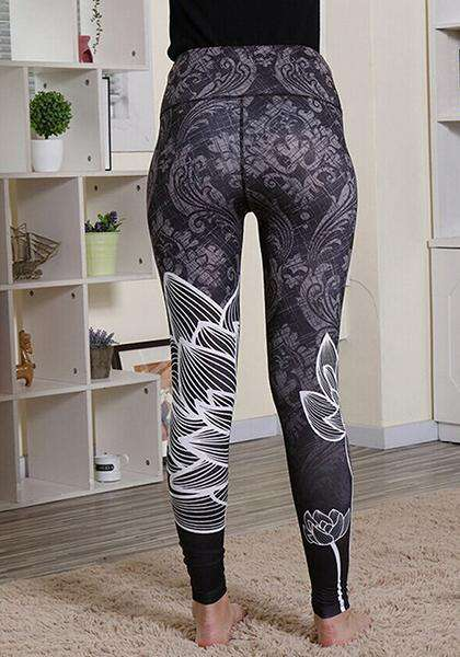 Lotus Digital bedruckte Leggings