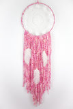 Pink Doily Dream Catcher