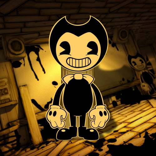 Bendy Standee Cutout