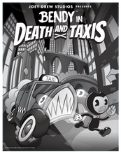 Nightmare Run - Death and Taxis Poster Set