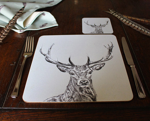 Sophie Botsford Stag Placemat