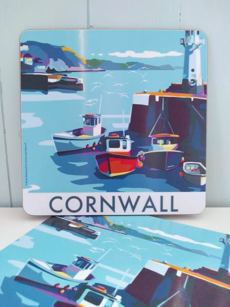 Becky Bettesworth Cornwall Mevagissey Placemat