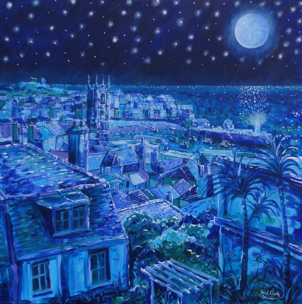 """Moonlight Over St. Ives"" by Paul Clark"