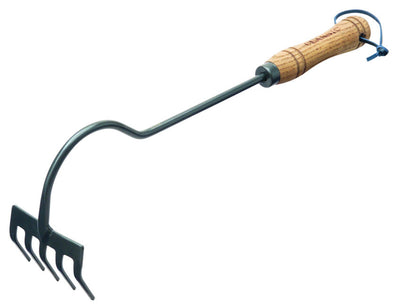 "Hand Rake with Long Reach 15"" Handle"