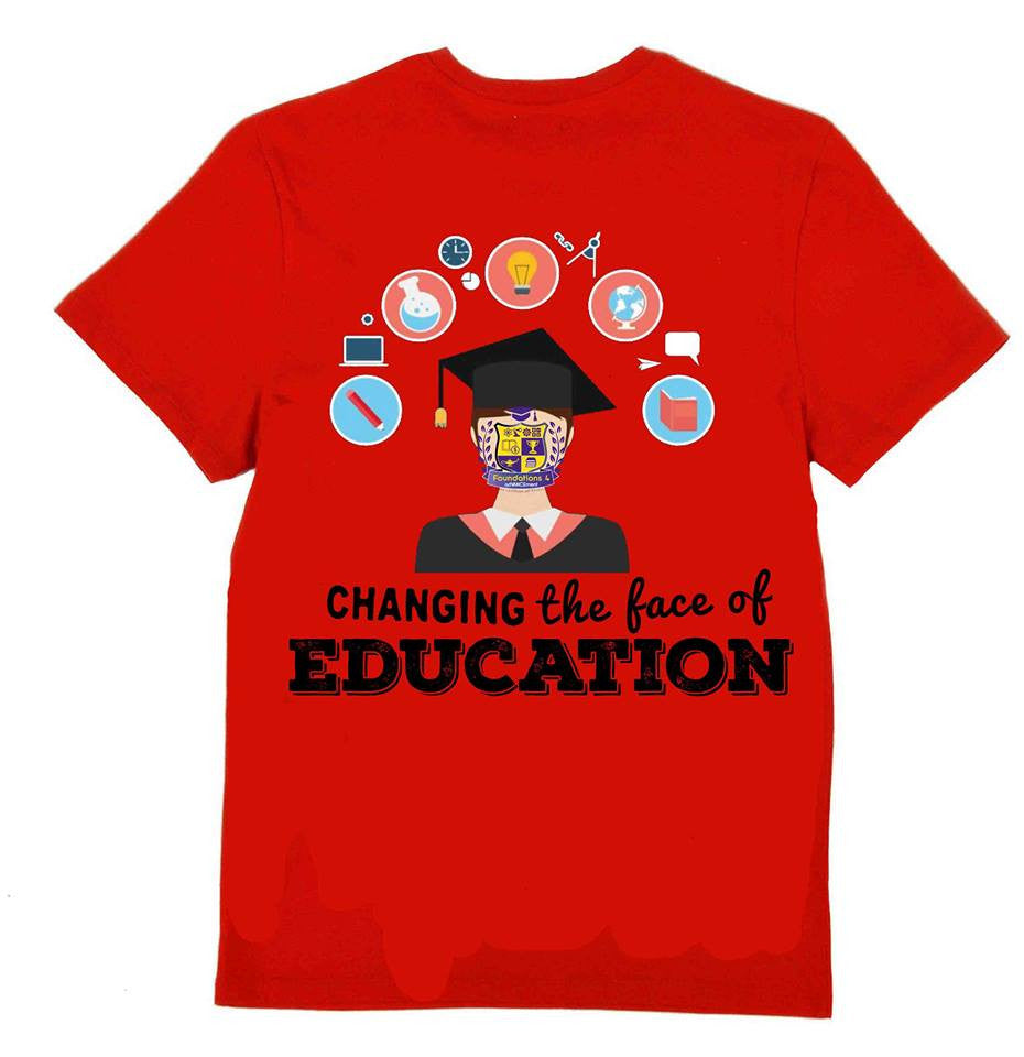 Changing the Face of Education  T-shirt