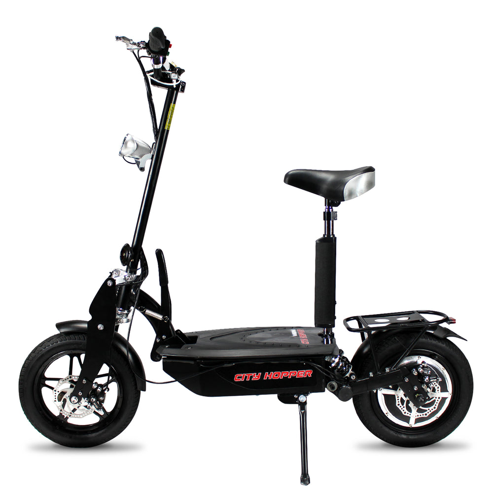 City Hopper Super Turbo Brushless 1000W Electric Scooter - CH16D-BK (Floor Model Open Box)