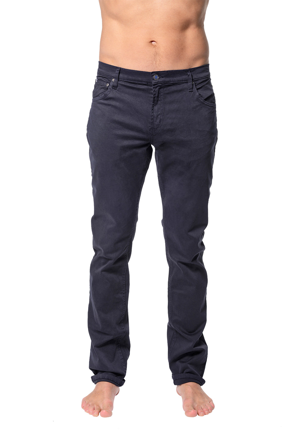 5 Pocket Slim Buck - Navy