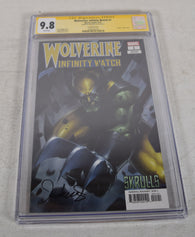 Wolverine Infinity Watch 1 Marvel CGC SS 9.8 Jeehyung Lee Signed Variant