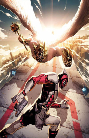 Death of Hawkman 1 Cover B DC 2016