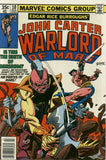 John Carter Warlord of Mars 10 Marvel 1977 Dejah Thoris