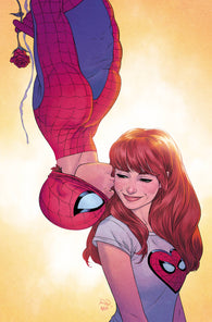LOVE ROMANCES #1 B Marvel Russell Dauterman YOUNG GUNS Variant Spider-Man Mary Jane Kiss (02/20/2019)