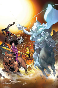 WAR OF REALMS JOURNEY INTO MYSTERY #3 (OF 5) Valerio Schiti (05/22/2019) MARVEL
