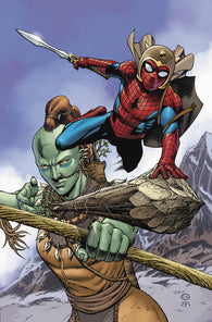 WAR OF REALMS SPIDER-MAN & LEAGUE OF REALMS #2 B (OF 3) ARTIST Variant (05/29/2019) MARVEL
