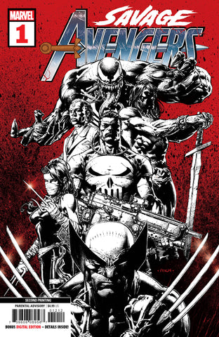 SAVAGE AVENGERS #1 2nd Print David Finch Variant Gerry Duggan (06/05/2019) MARVEL