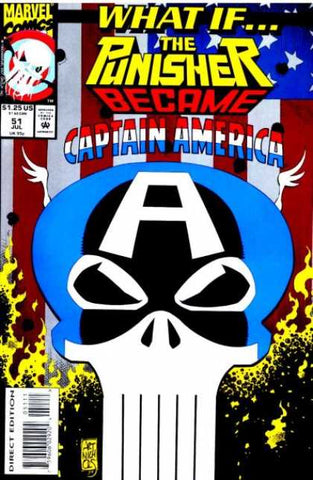 What if 51 Punisher Became Captain America Marvel 1993