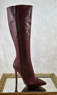 Jessica Simpson burgundy knee high boots