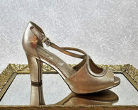 Giani Bernini rose gold  heels