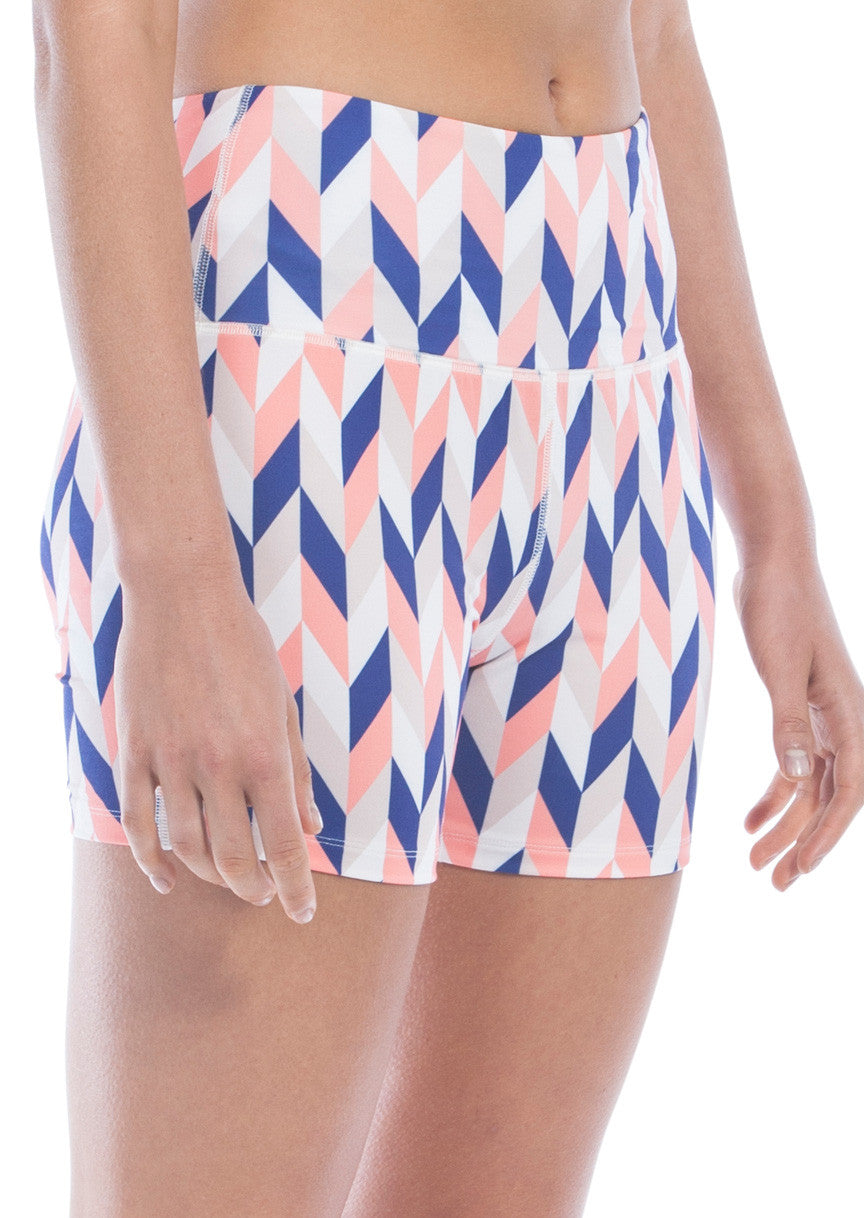 Light To Love Biker Shorts