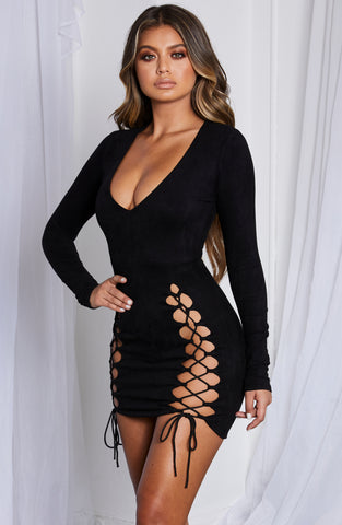 Candy Mini Dress - Black