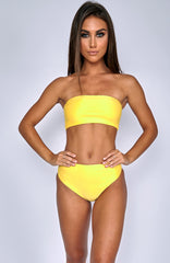 Alina Swimwear Set - Yellow