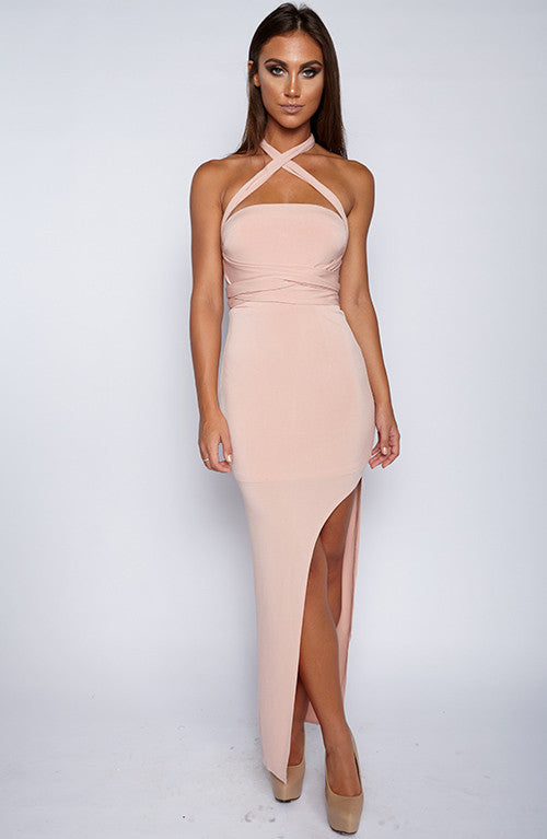Unapologetic Dress - Dusty Pink