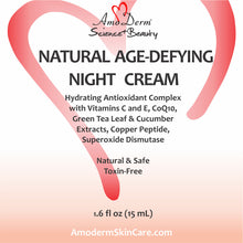 Natural Anti-Aging Night Cream box front view