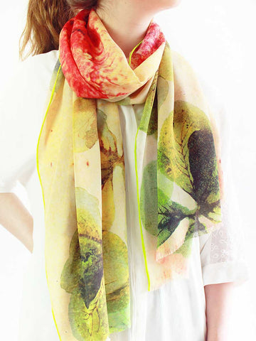 The Wish Superlight Silk Summer Scarf - Dandelion