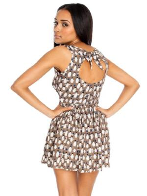ESME CONVERSATIONAL PRINT DRESS - Fashion Trendz