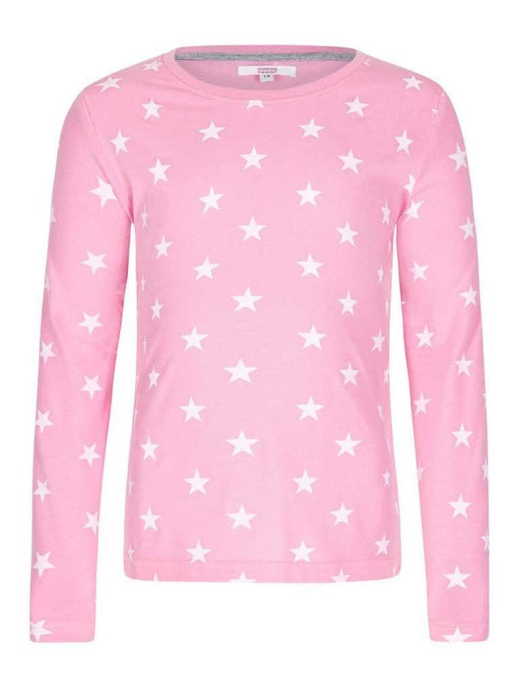 SUGAR SQUAD LONG SLEEVE TOP PINK