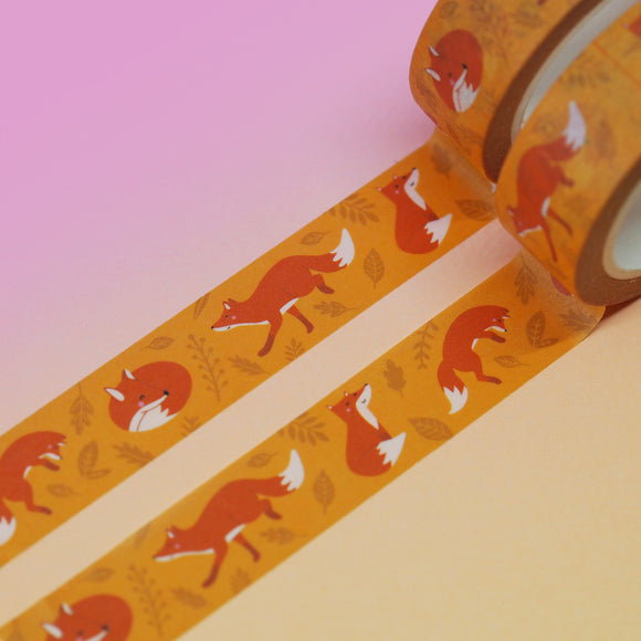 Fox Washi Tape